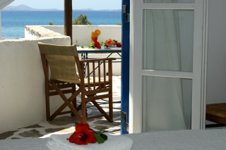 Economy double room with Sea view alkyoni beach
