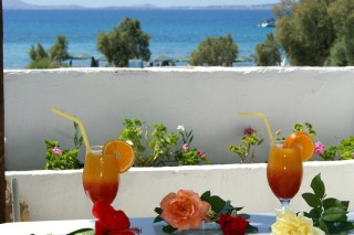 Economy double room with Sea view alkyoni beach drinks