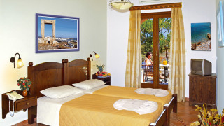 Economy triple room alkyoni beach hotel