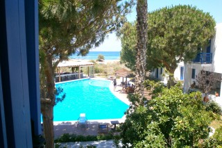 Executive sea view double room alkyoni beach pool view