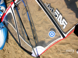 Windsurfing alkyoni beach hotel equipment