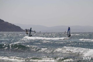 Windsurfing alkyoni beach hotel surfers