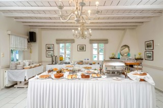 alkyoni beach hotel naxos restaurant