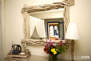 junior spa suite alkyoni beach mirror
