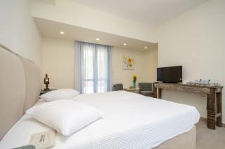 junior suite alkyoni beach bedroom