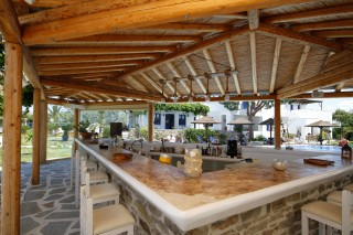 restaurant alkyoni beach hotel bar restaurant