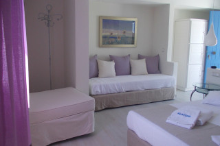 standard triple room alkyoni beach lounge