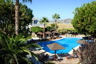 swimming pool alkyoni beach hotel area