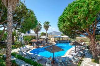 swimming pool alkyoni beach hotel bar