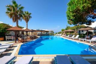 swimming pool alkyoni beach hotel pool area