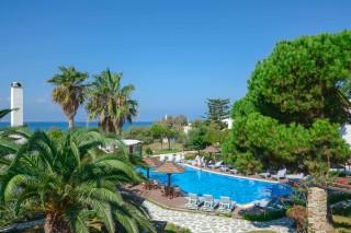 swimming pool alkyoni beach hotel pool bar