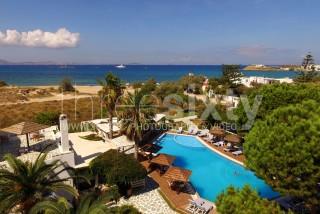 swimming pool alkyoni beach hotel sea view