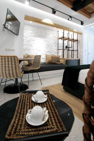 Natura double room with sea view alkyoni beach hotel interior
